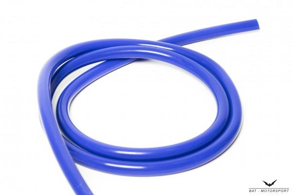 10mm Silikon Unterdruckschlauch Blau